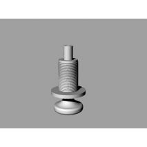 3D печать ручки механизма раскладывания сидения Mitsubishi Pajero Pinin