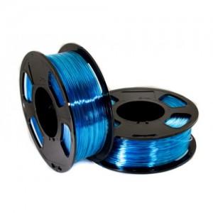 PETG пластик U3Print голубой светопропускающий